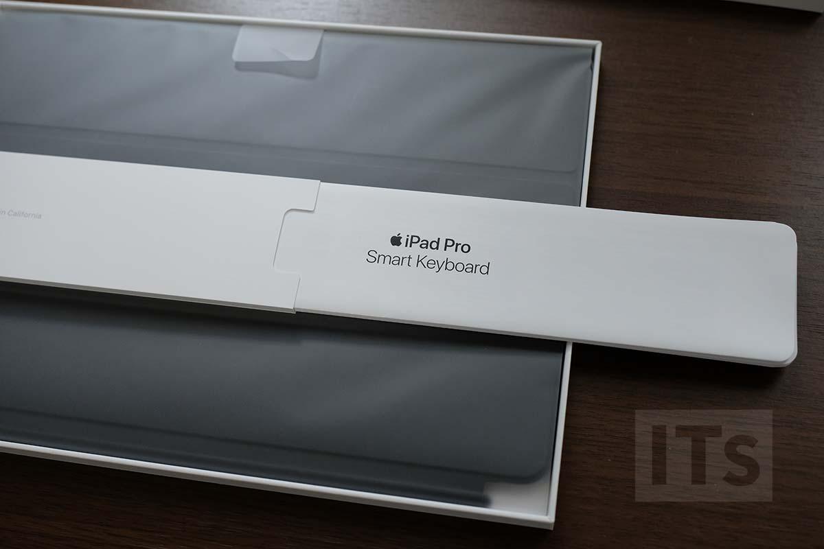 10.5インチ iPad Pro スマートキーボード の説明書
