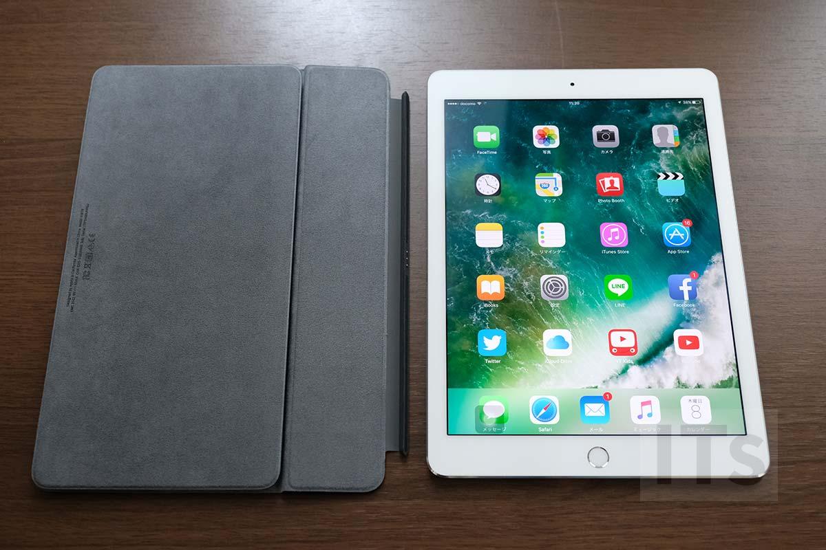 9.7インチiPad Proと10.5インチ版スマートキーボード
