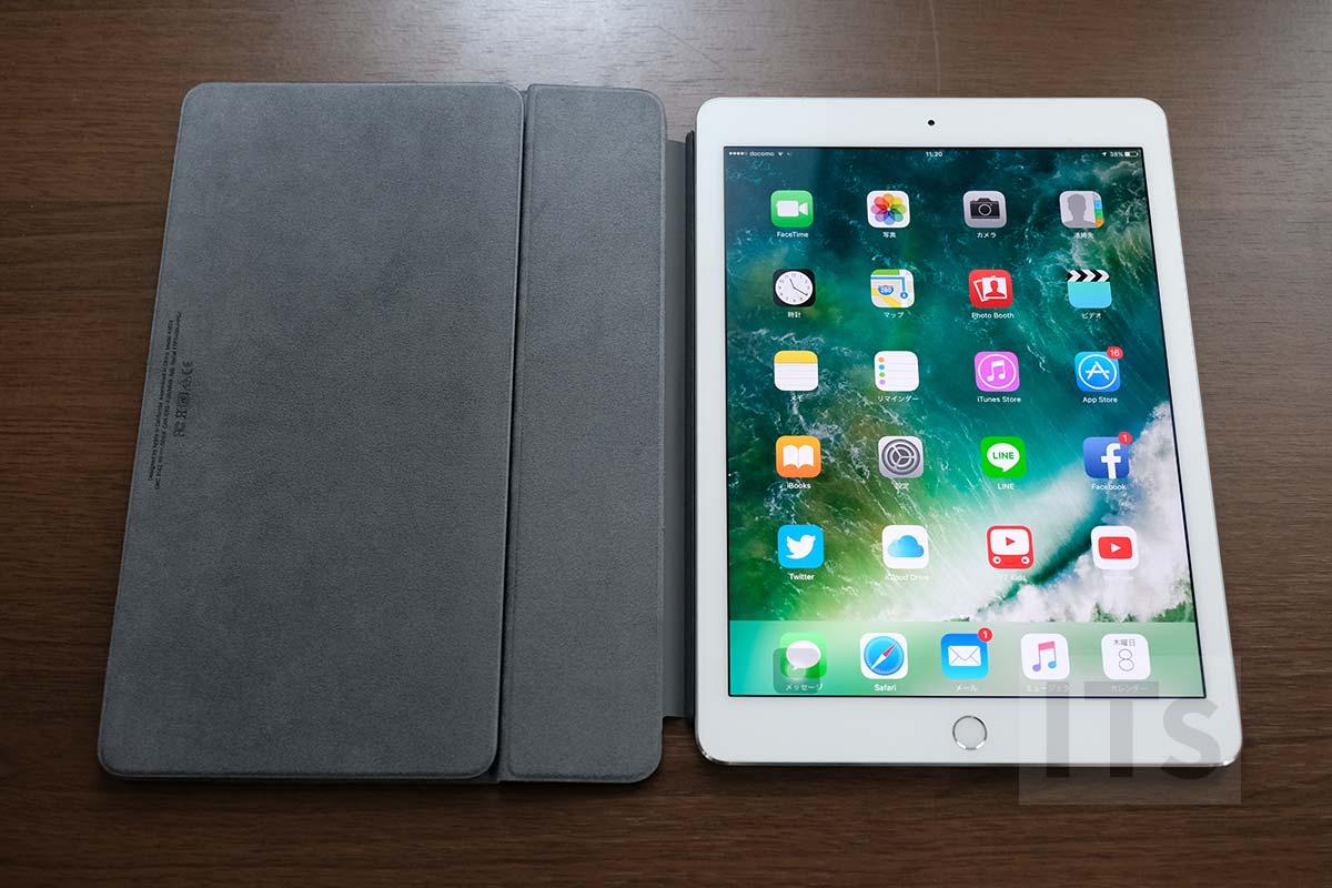 9.7インチiPad Proと10.5インチ版スマートキーボード 装着可能