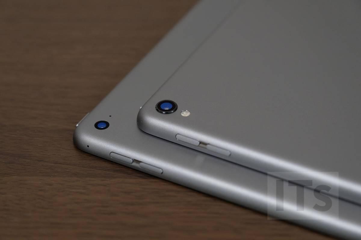 iPad Pro 12.9(第2世代)と(第1世代)外観比較