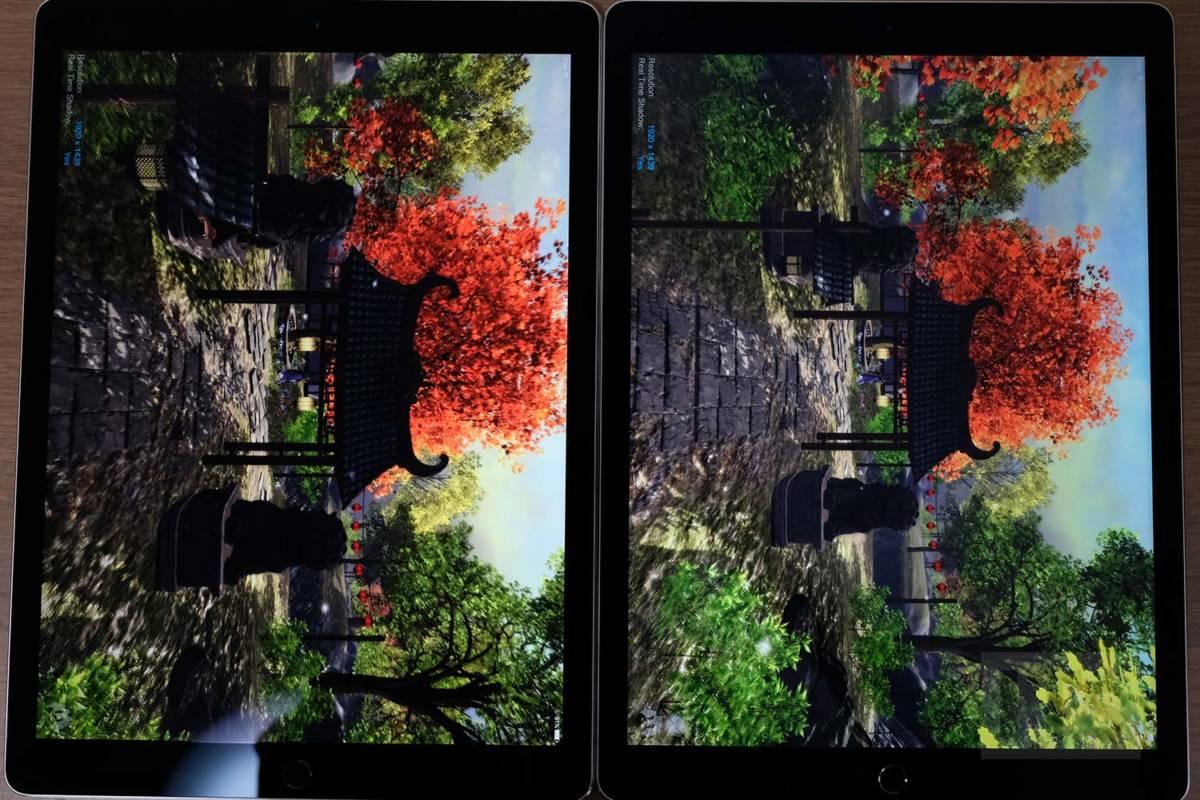 iPad Pro 12.9(第2世代)P3ディスプレイ