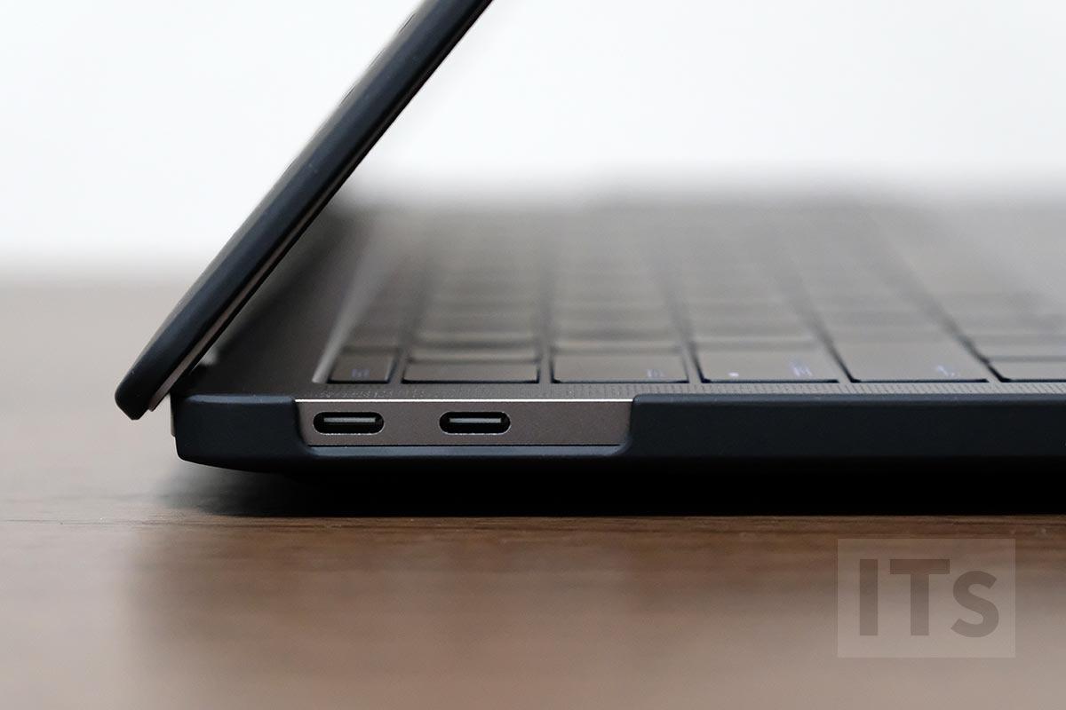 13インチMacBook Pro メッシュケース USB-Cポート