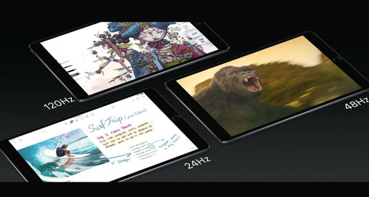 iPad Pro 2 リフレッシュレート