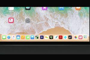 iOS11 iPad Dock機能