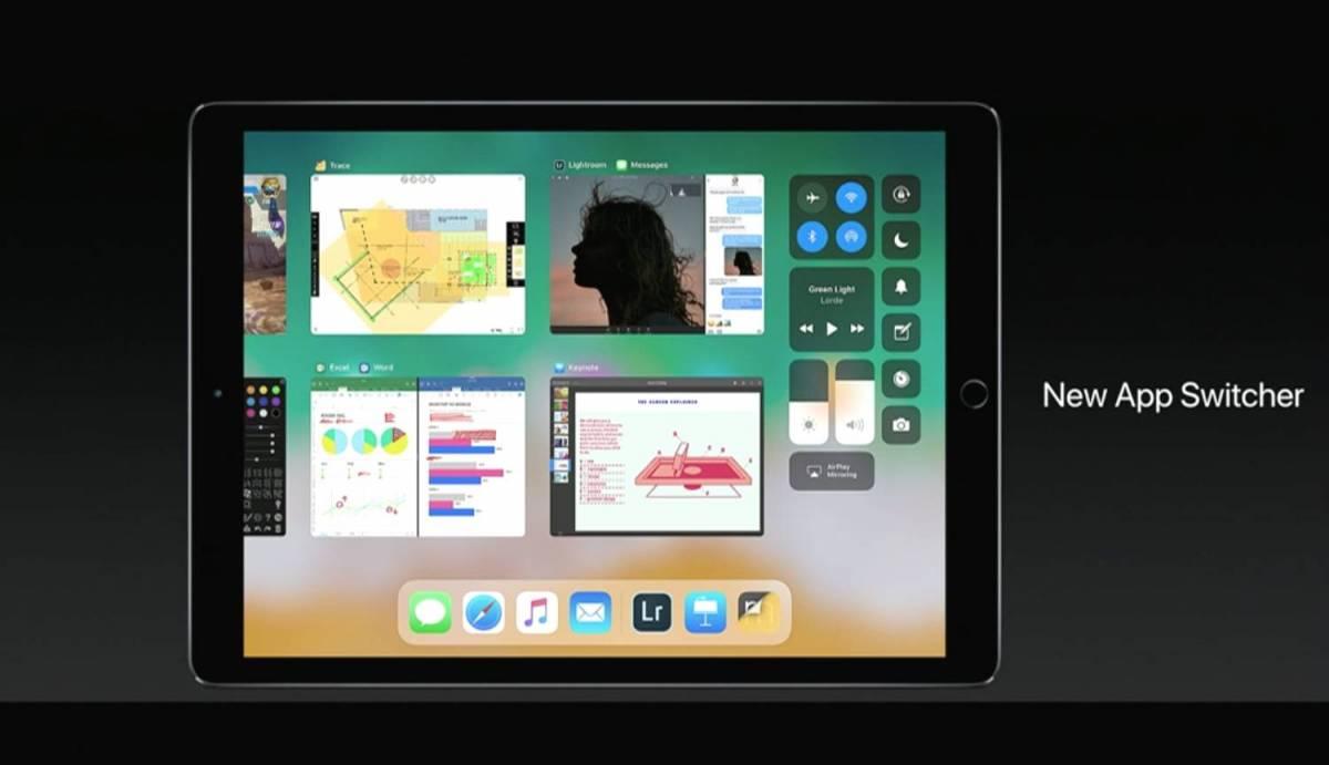 iOS11 iPad マルチタスキング