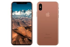 Blush Gold iPhone8