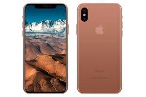 Blush Gold iPhone8
