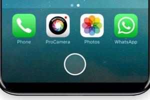 iPhone8 仮想ボタン