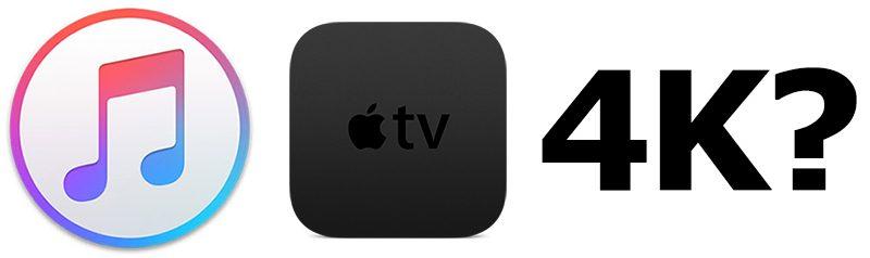 4K Apple TV iTunes