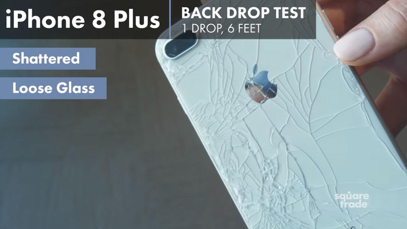 iPhone 8 Plus ガラス 割れる