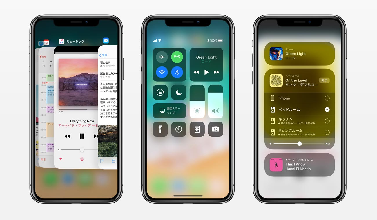 iPhone X ディスプレイ