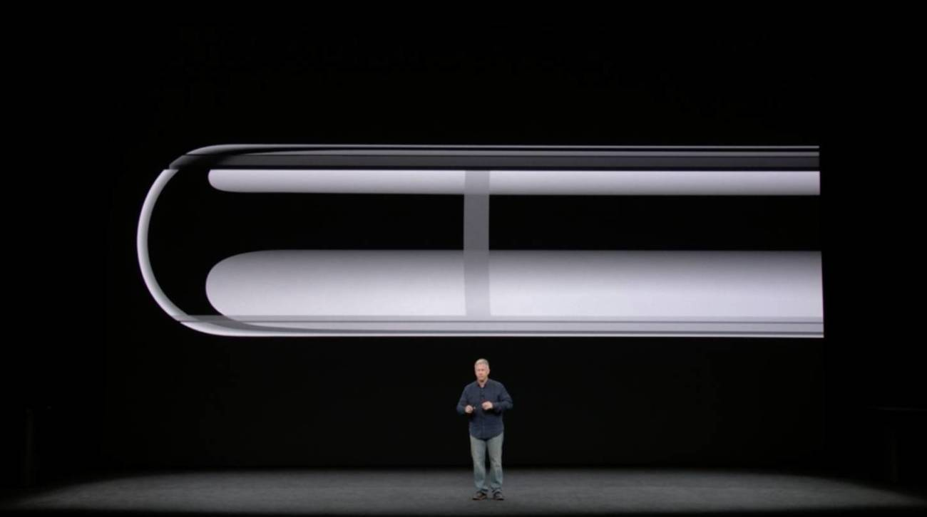 iPhone X サイドフレーム