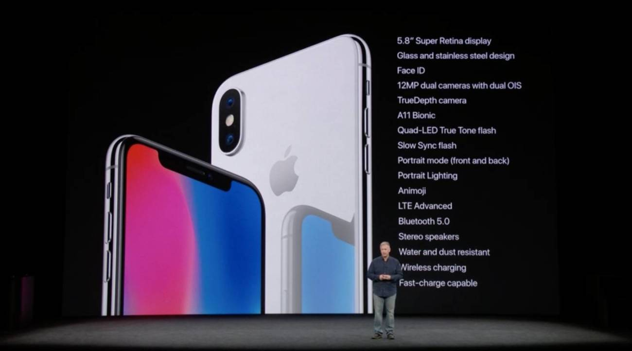 iPhone X 仕様