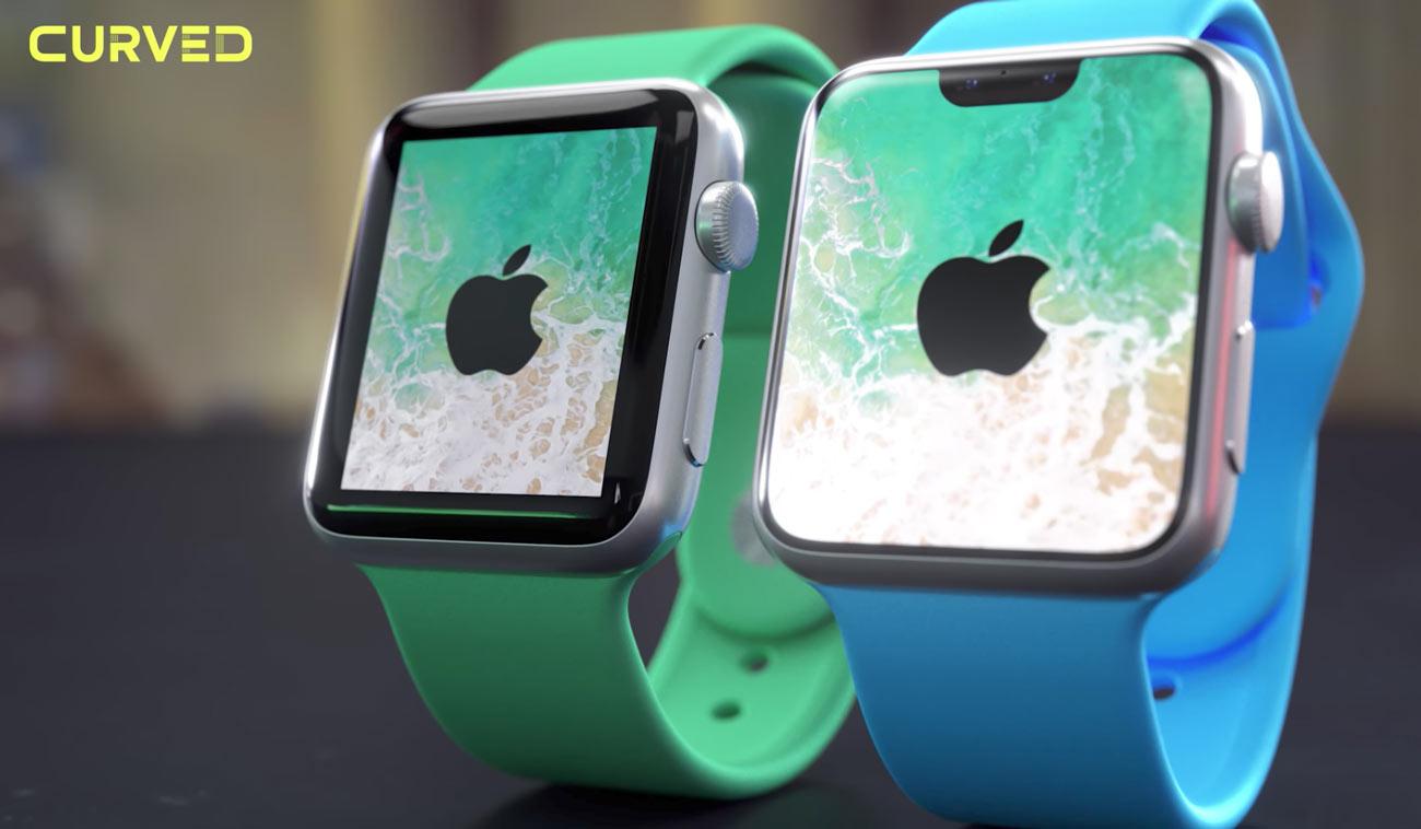 Apple Watch ベゼルレスデザイン