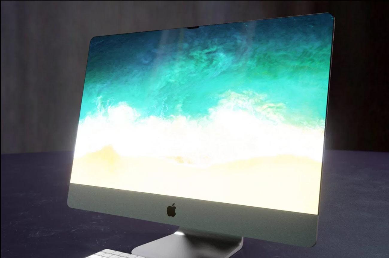 iMac ベゼルレスデザイン