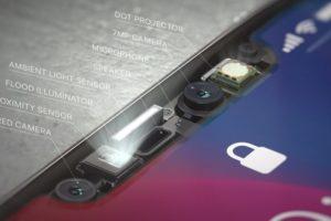 iPhone X TrueDepthカメラ
