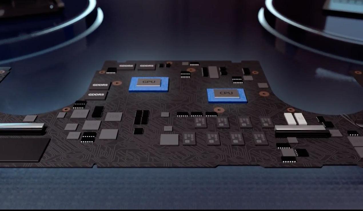 CPUとGPU、RAMの接続
