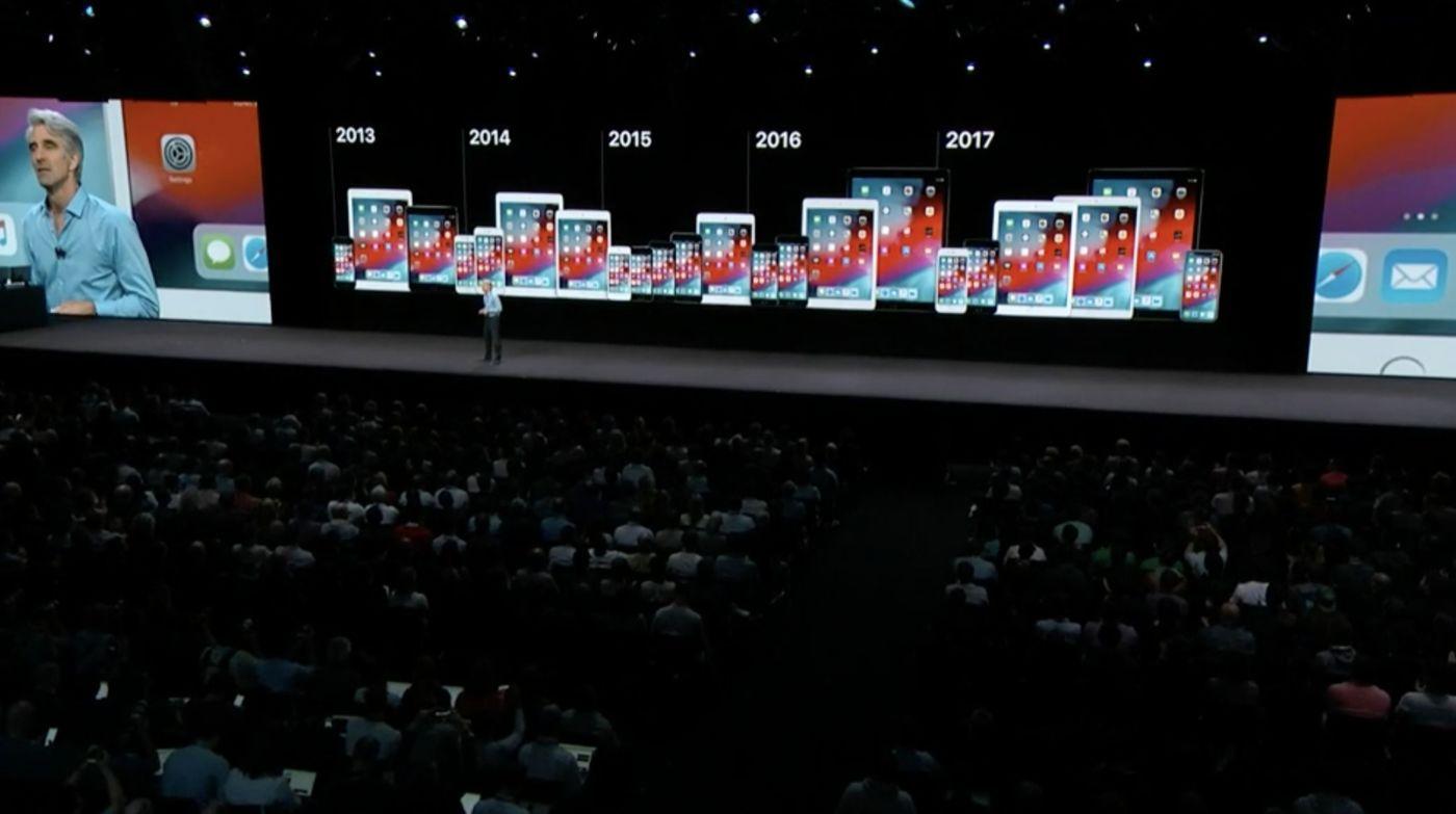 iOS 12 対応端末