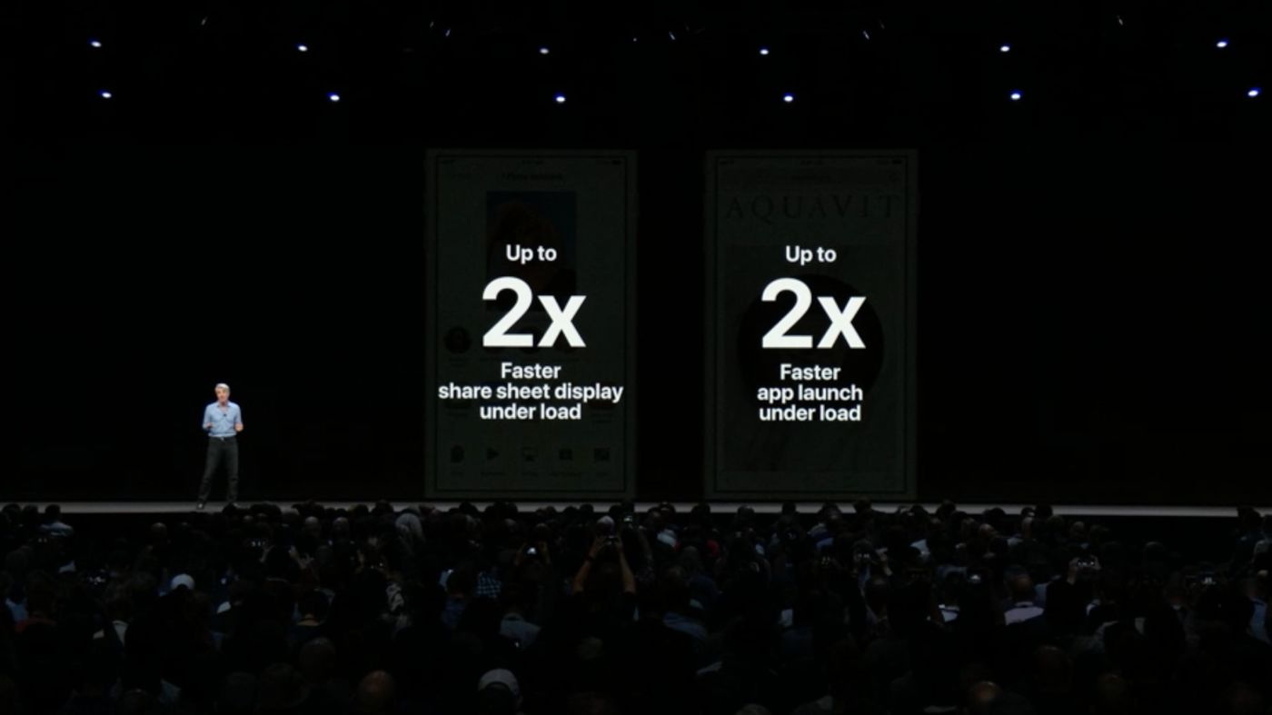 iOS 12 高速化