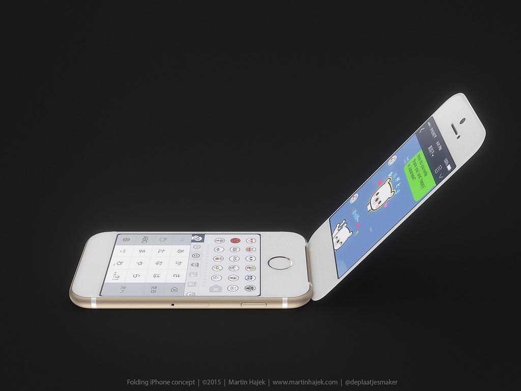 ガラケイPhone 6  LINE