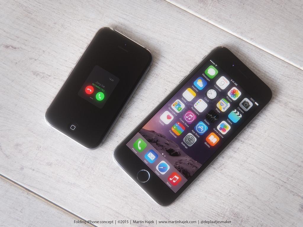 ガラケイPhone 6 着信