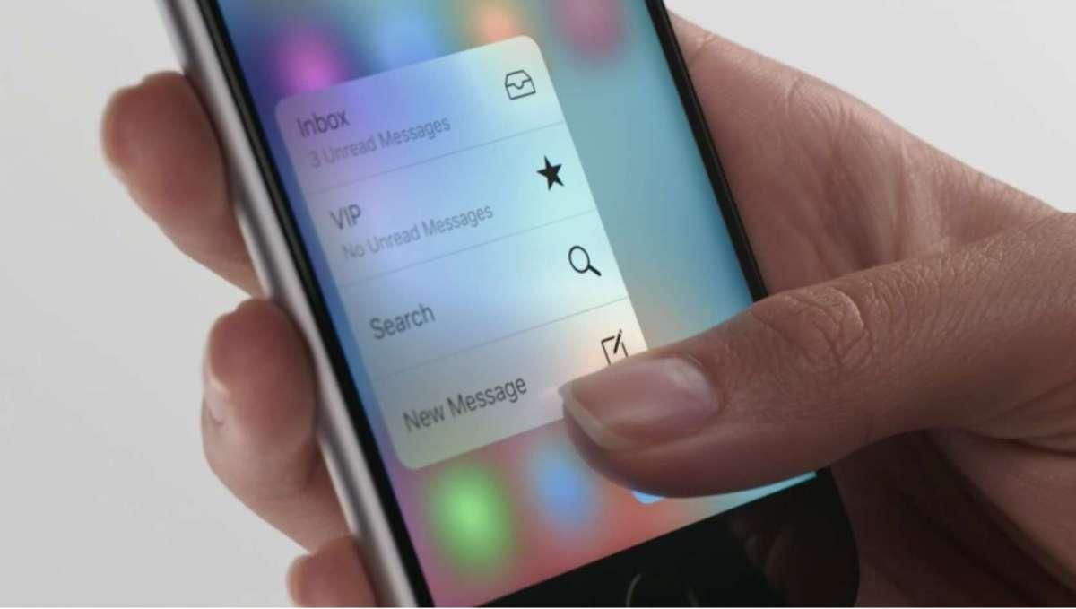 感圧タッチパネル IPhone 6s