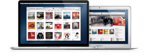 iTunes 11 Cover Flow