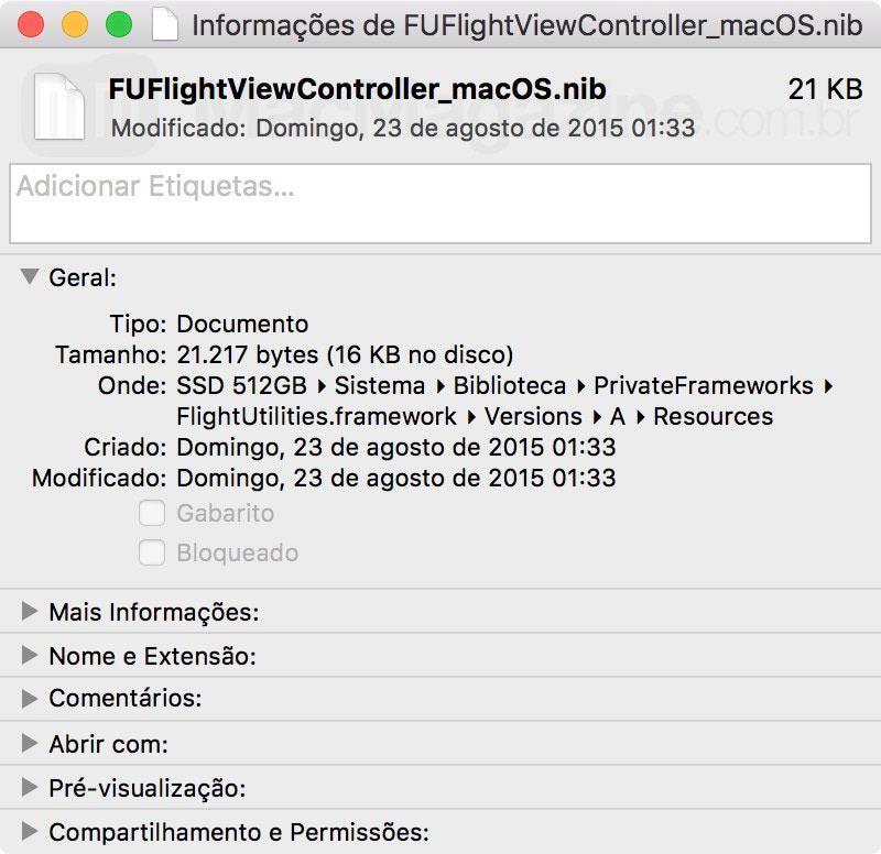 OS X 10.11.4 macOS