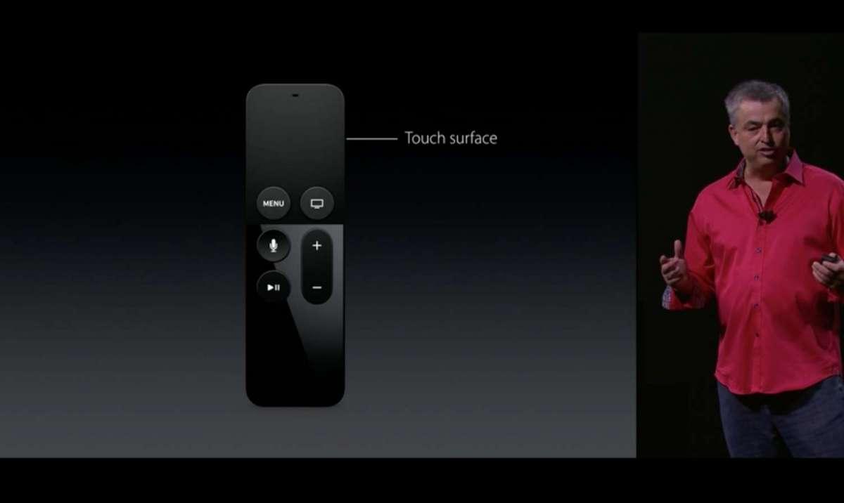 Apple TV リモコン