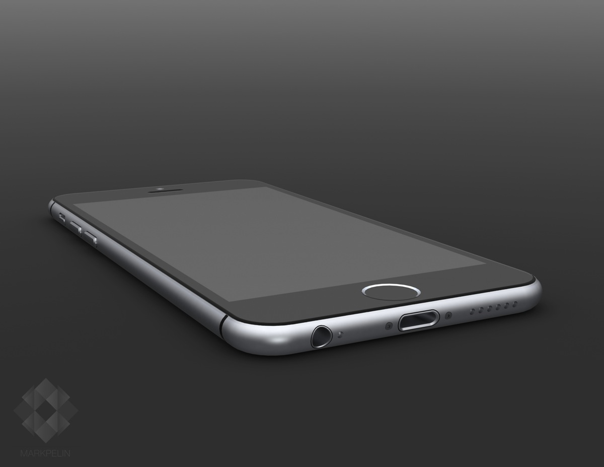 5mp iphone6 render low angle