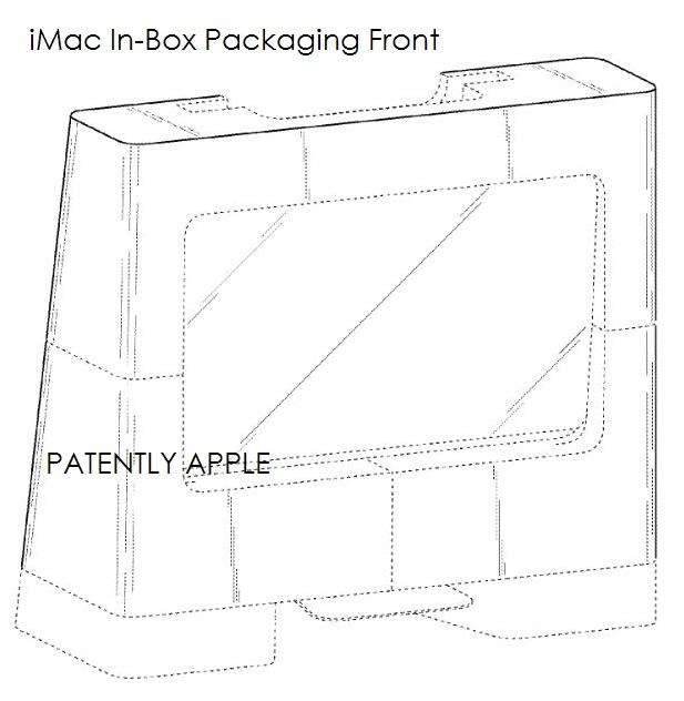 iMacの箱 特許