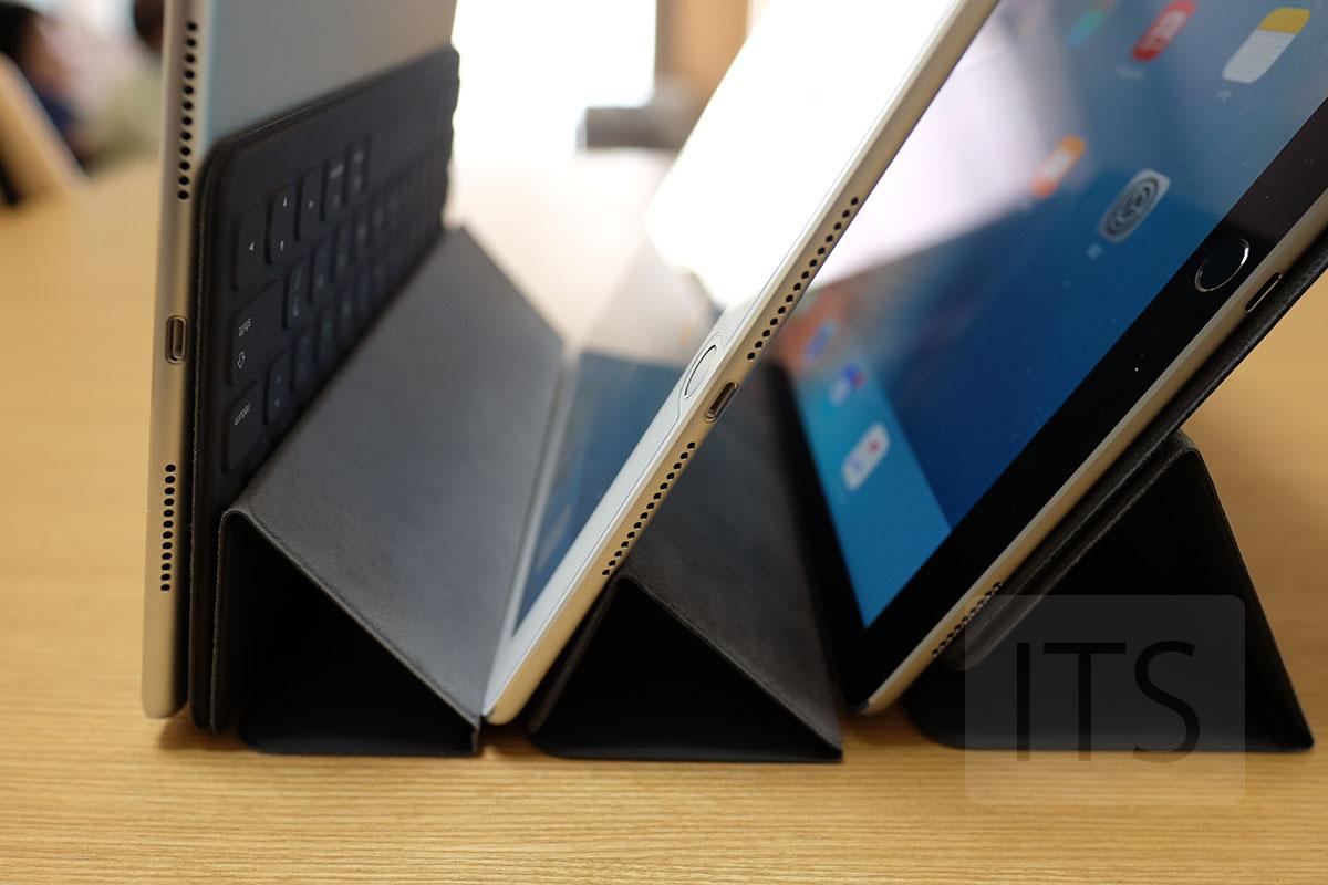 フォトスタンドモード iPad ProとiPad Air 2