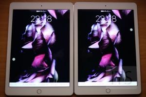 iPad Pro 9.7インチ 広色域ディスプレイ