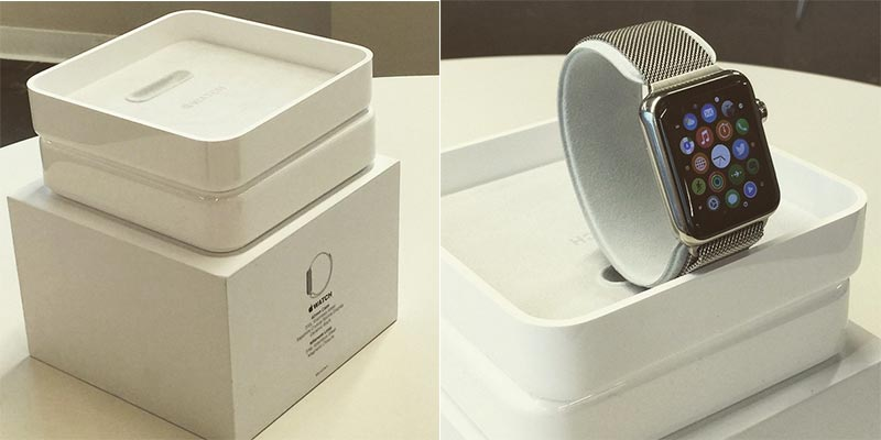 Apple Watch Retail Packaging Photos