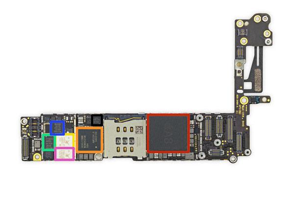 Iphone 6 分解ロジックボード
