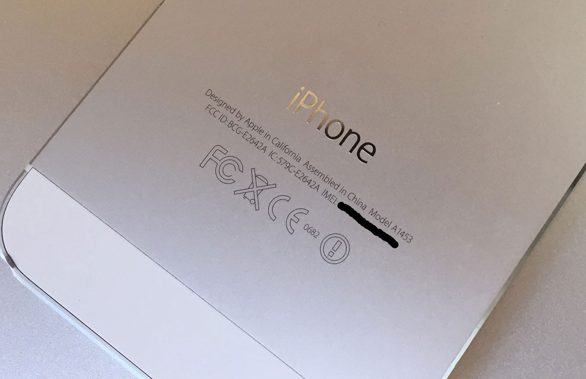 iPhone FCCマーク