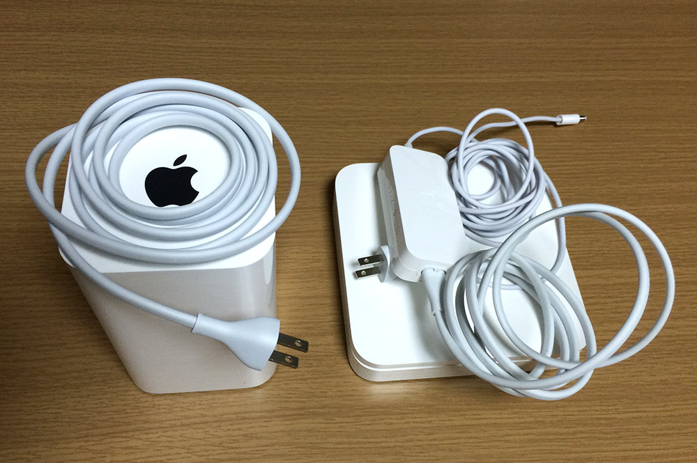 AirMac Time Capsule AC電源