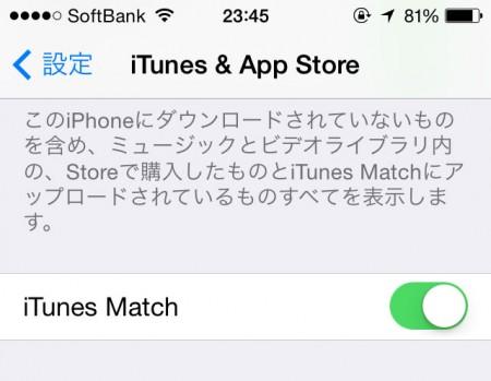 iTunes Match iOS