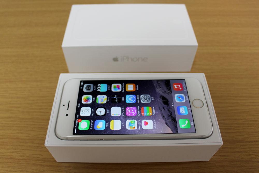iPhone 6 パッケージ
