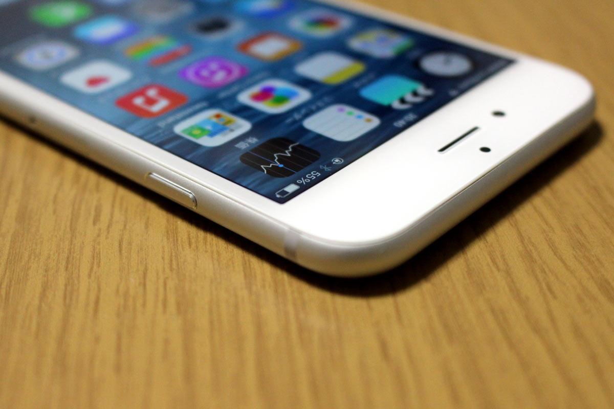 iPhone 6 電源/スリープボタン