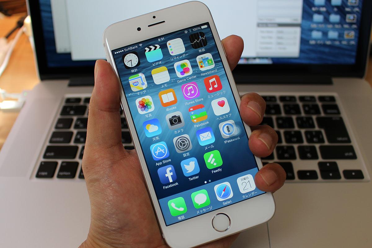 iPhone 6 電源ボタン