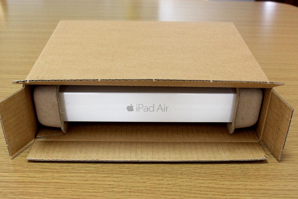 iPad Air 2の梱包状態
