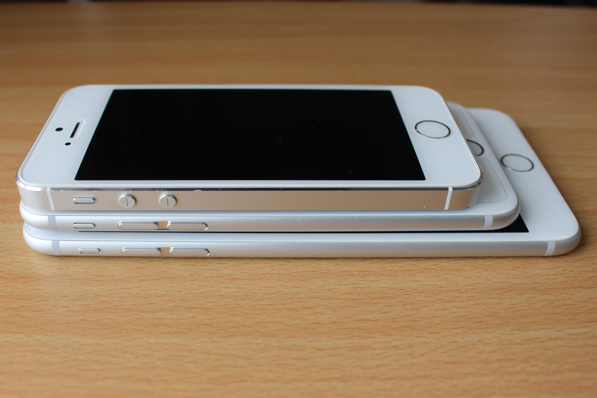 iPhone ファミリー