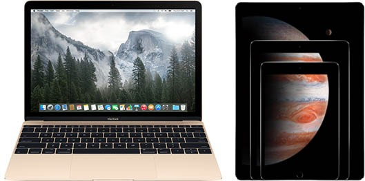 MacBook iPad Pro