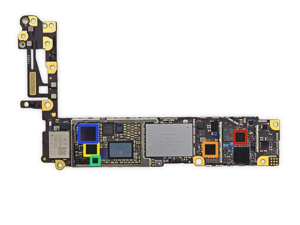 iPhone 6 ロジックボード