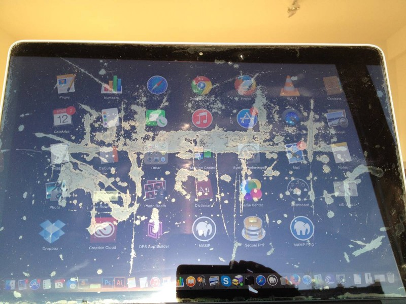 コーティング MacBook Pro Retina