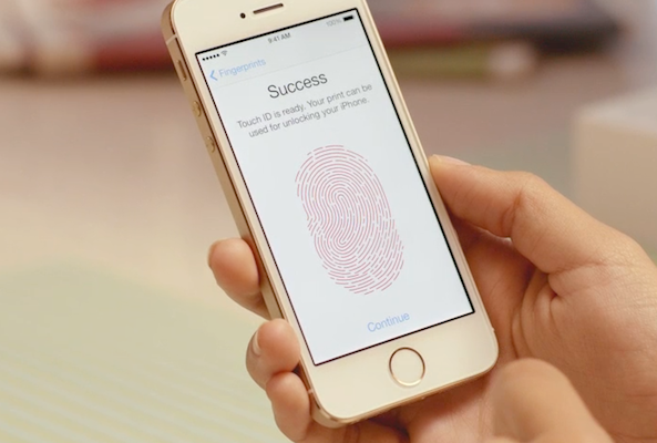 Touch ID success