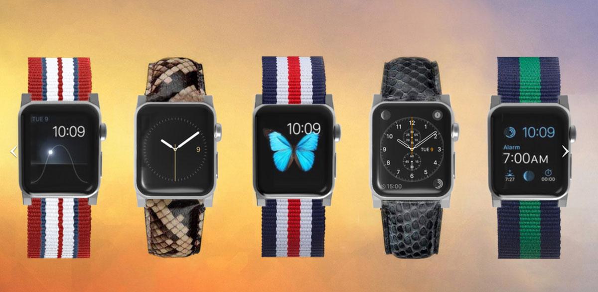 Apple Watch アダプタを使ってバンド交換