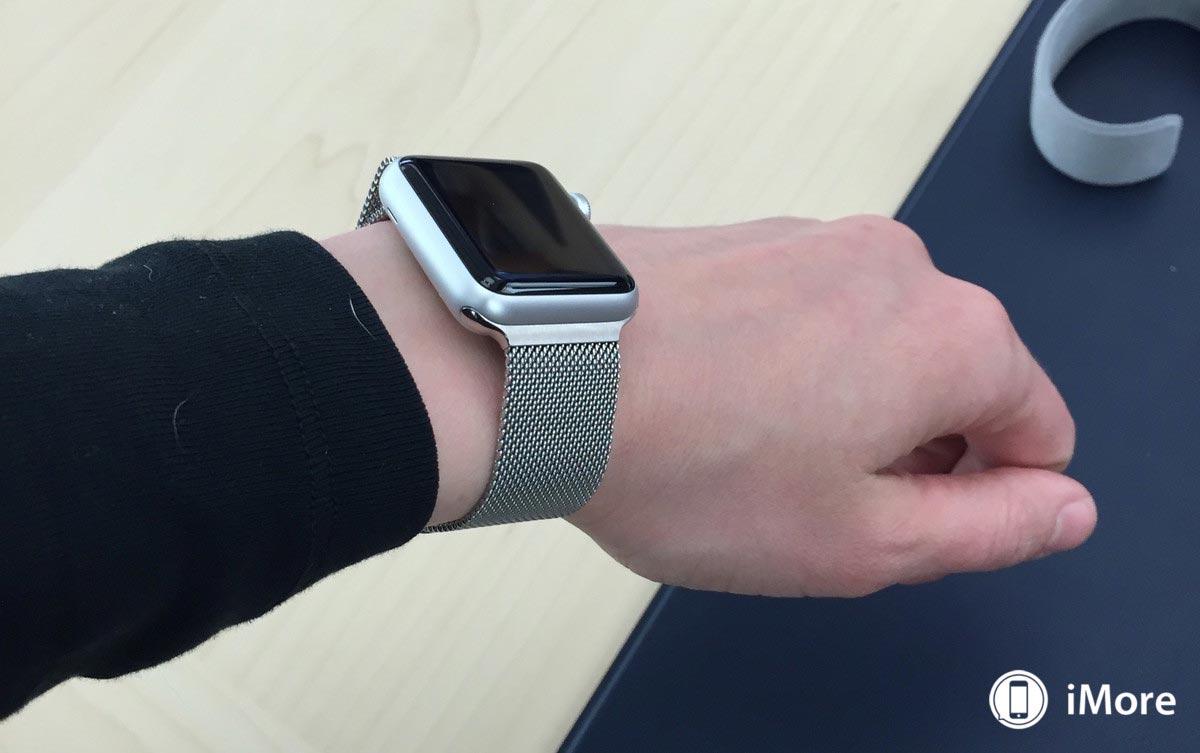 Apple watch sport ミラネーゼループ