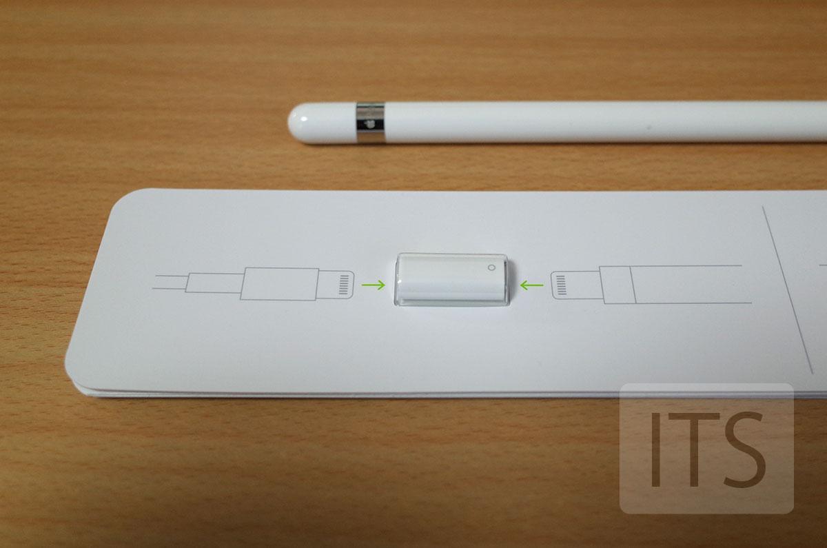 Apple Pencil 充電用の変換アダプタ